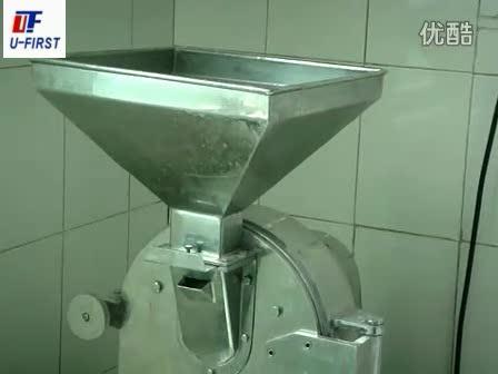 Industrielle Nahrungsmittelkrautschleifermaschine / Gewürzfräsmaschine