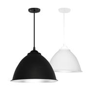 简约现代吊灯工业风创意个性单头工矿灯罩吧台餐厅办公室美发店灯
