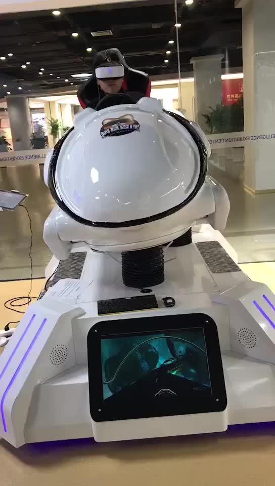 2018 newest virtual reality car racing simulator vr game machine