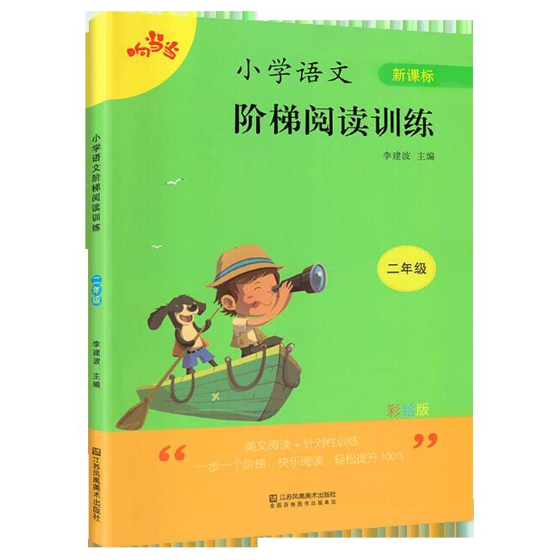 阶梯阅读二年级阅读理解训练 彩绘注音版 二年级课外阅读必读书 小学语文二年级上下册阅读理解专项训练书课外阅读书籍同步练习册