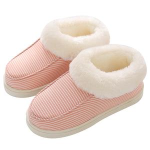 全包跟秋冬季家居家用毛毛男士棉鞋