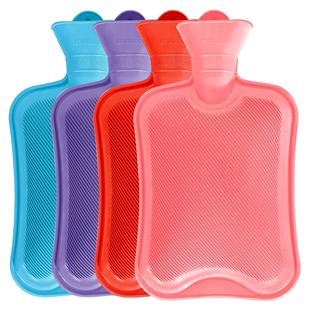 橡胶注水暖肚子热敷灌水大热水袋