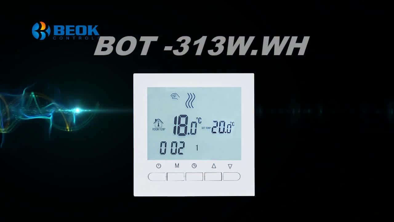 weekly programmable underfloor heating thermostat for smart bolier thermostat