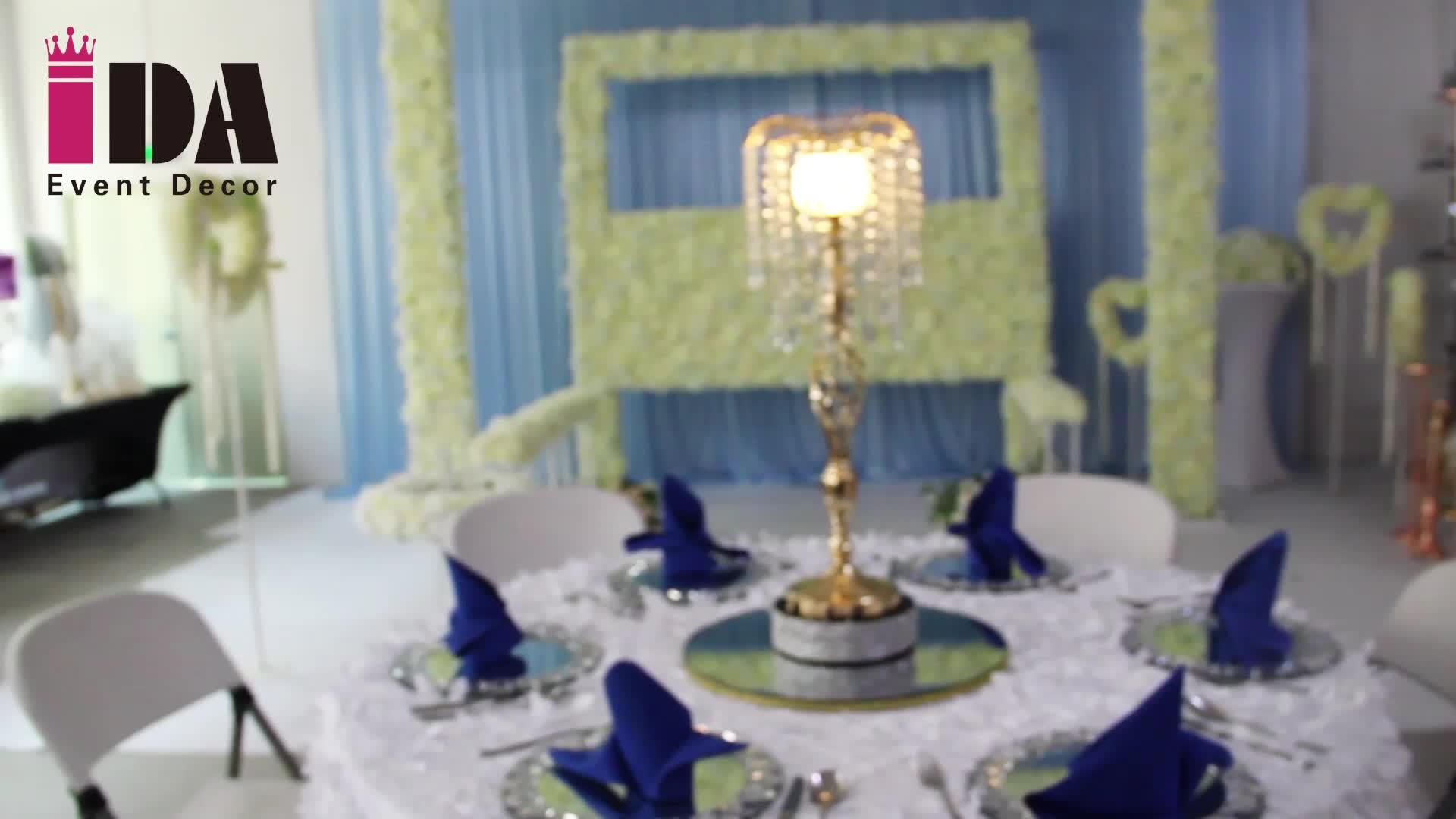 IDA candeeiro de mesa de cristal de luxo moderno para decoração de casa