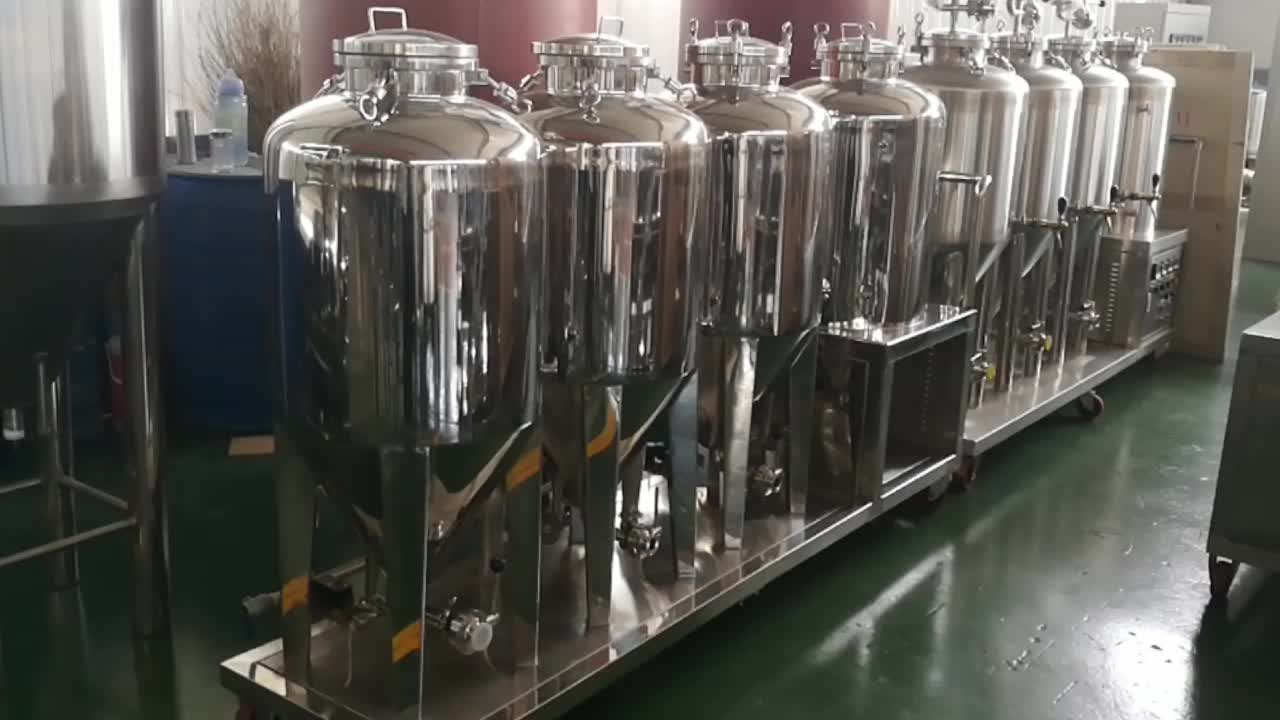 Micro craft turnkey 2-vessel brewhouse 1bbl home brewing equipment