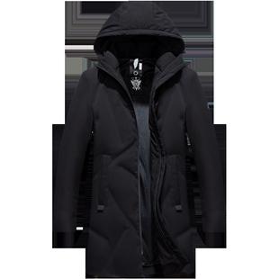 南极人冬季新款爆款男士休闲羽绒服