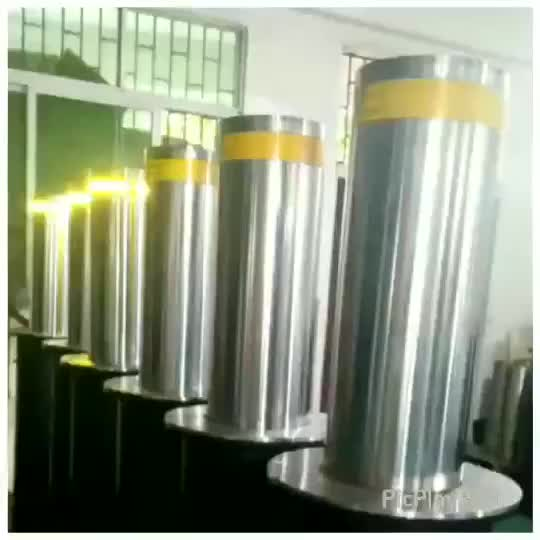 Safety telescopic barrier automatic lifting hydraulic column