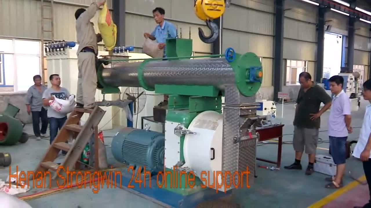 COMPETITIVE PRICE poultry feed raw material machine from factory
