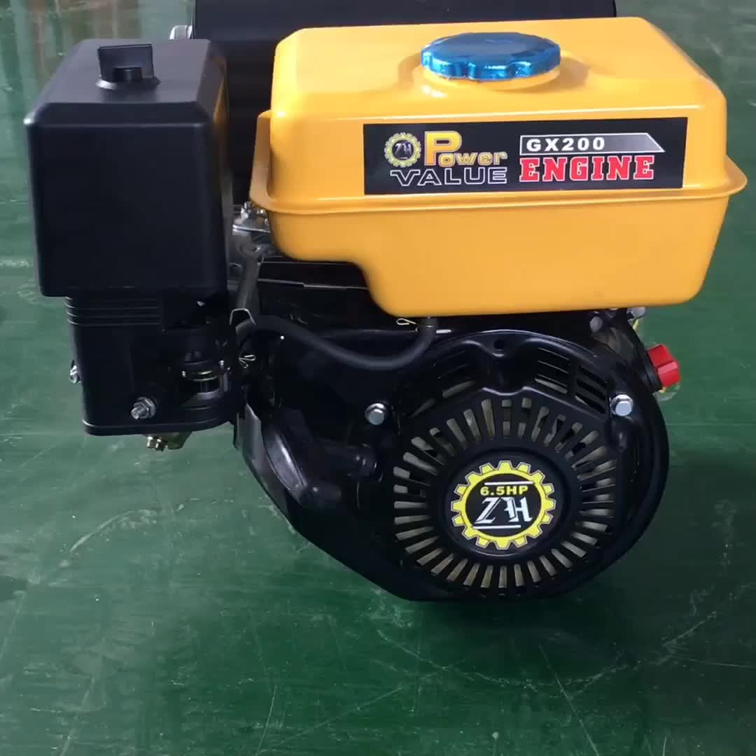 Power Value new design 200cc air cooled gasoline engine GX200 6.5HP
