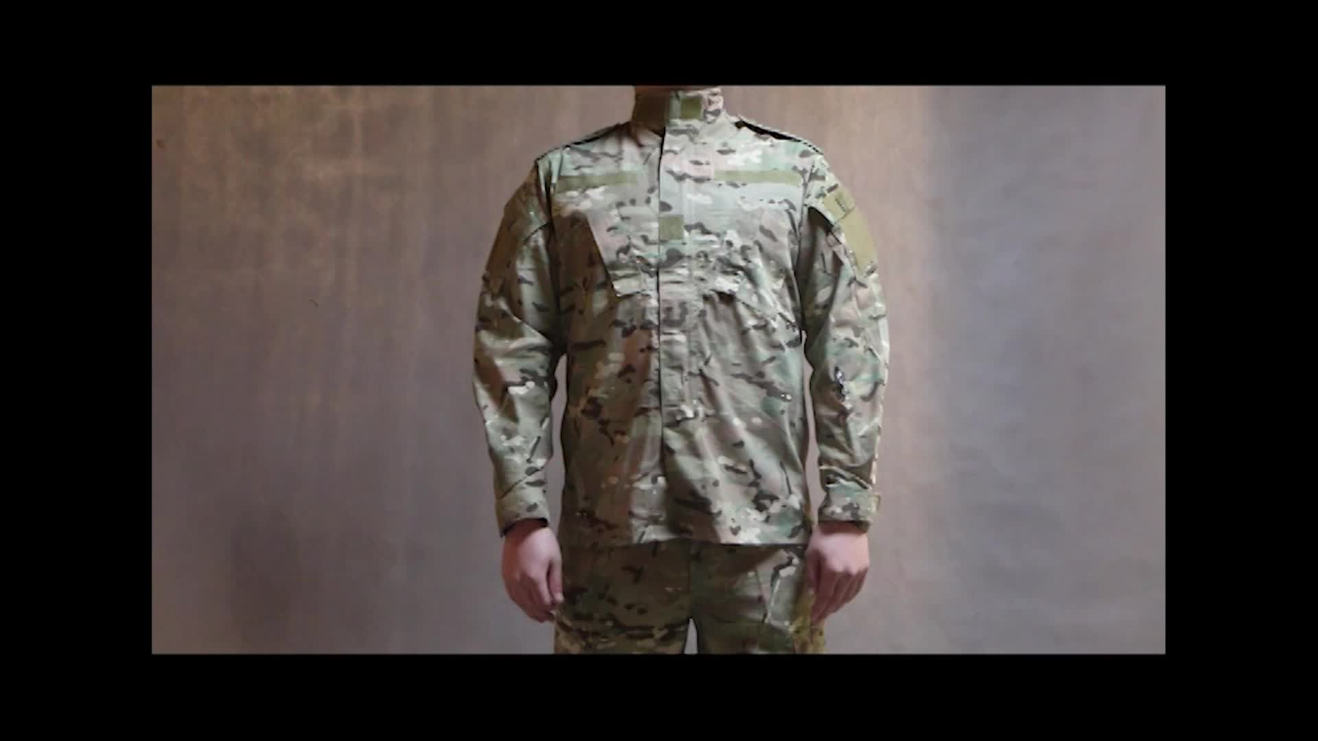 Breathable Camo Desert Army Military Uniform