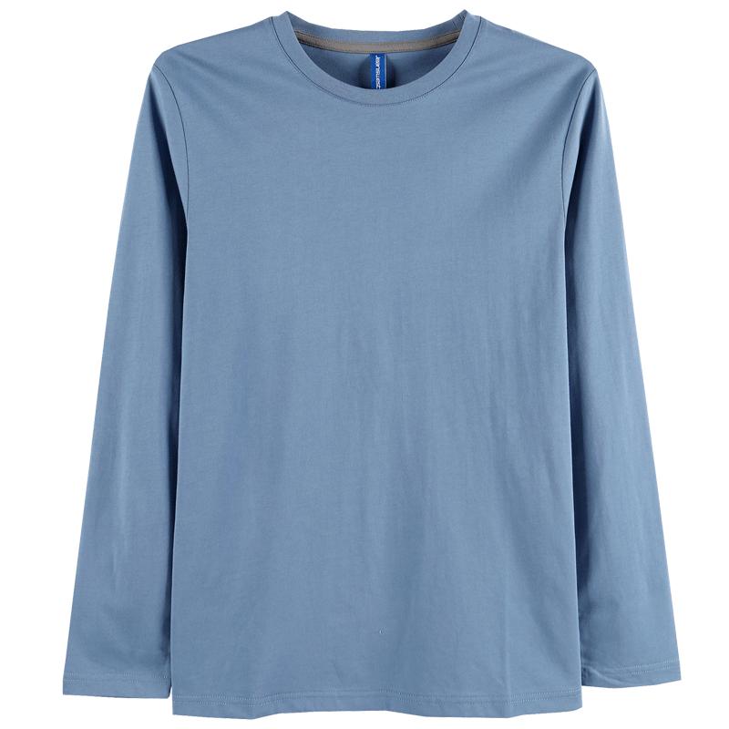 【真维斯】纯棉圆领长袖T恤