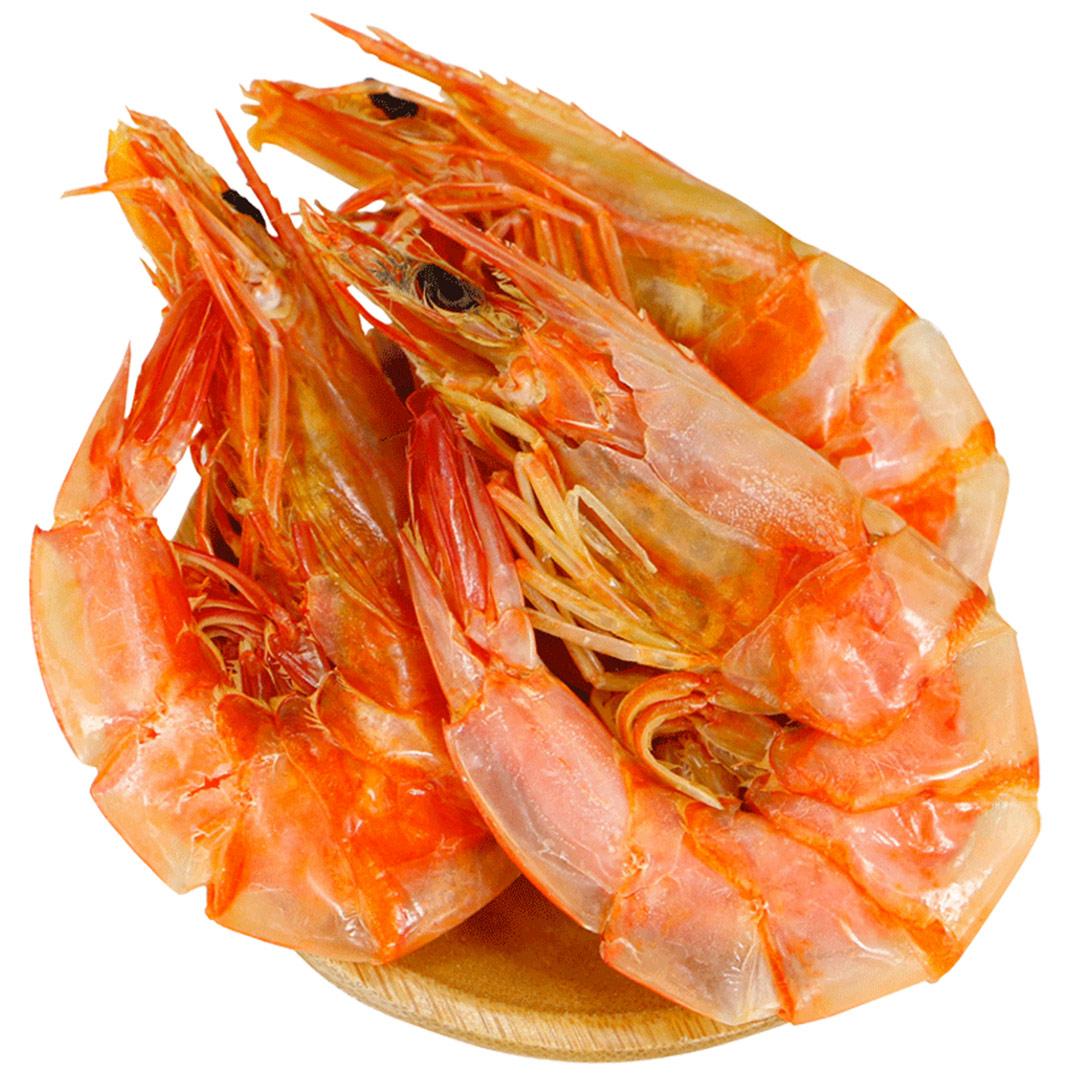 星仔岛虾干即食干虾烤虾干淡干中号对虾温州特产熟食海鲜干货500g