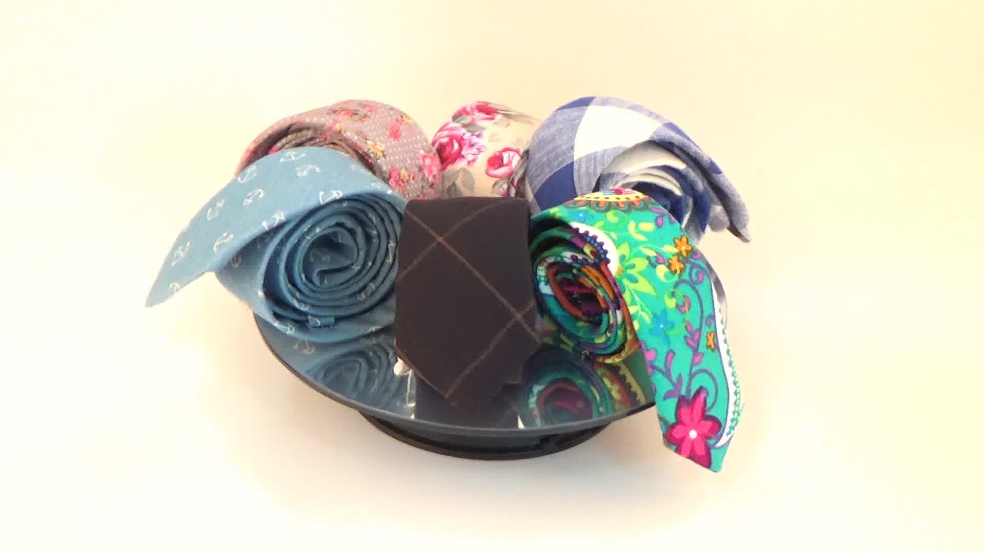 Förderung kunden baumwolle männer krawatte floral krawatte