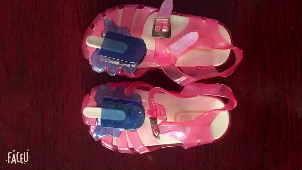 2c88ccd75731df Summer Candy Shoes Ice Cream Cute Jelly Shoes Of Kids Girl Shoes ...