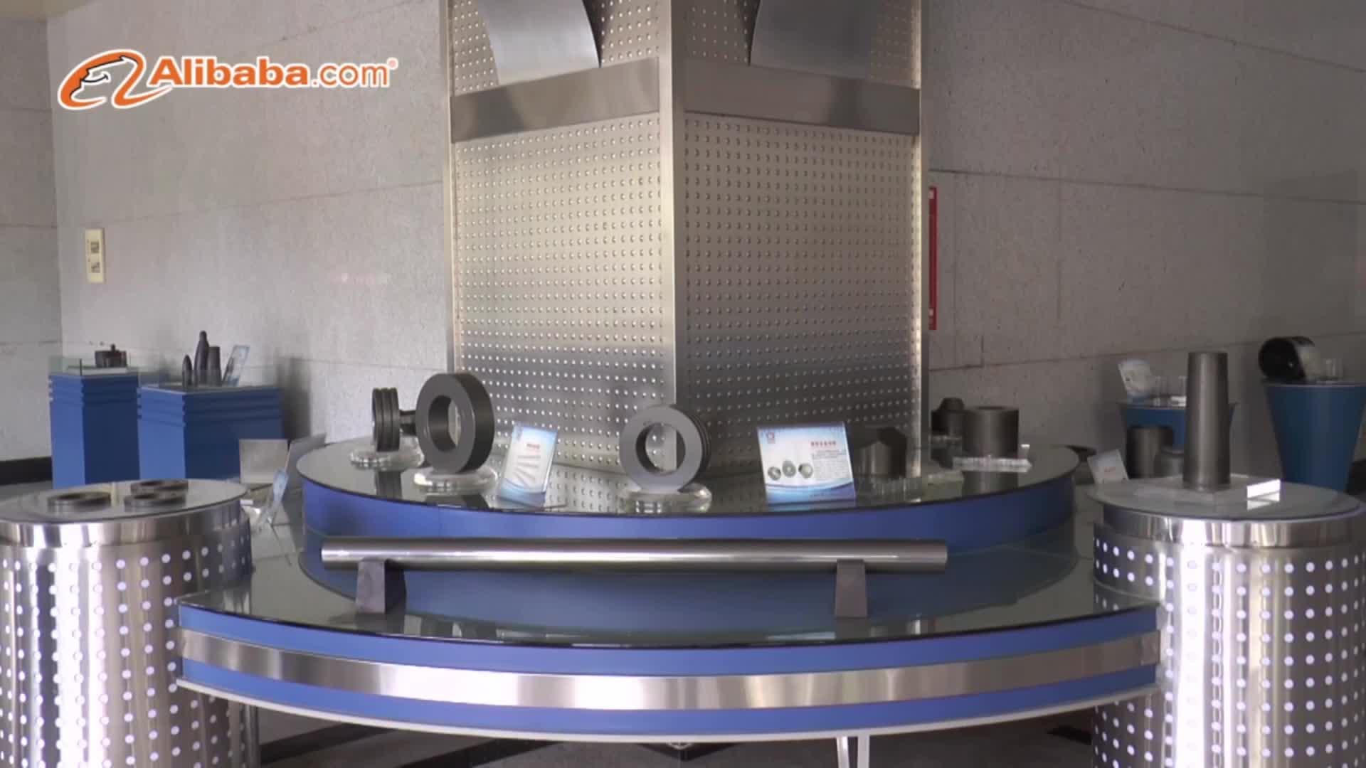 चीन उच्च गति रोलिंग मिलों के लिए डायमंड ब्रांड टंगस्टन कार्बाइड रोलर्स