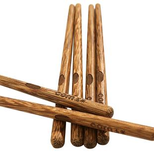 玉米鸡翅木筷子儿童专用实木宝宝筷