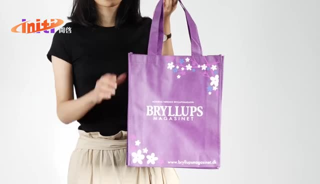Promotional Non Woven Gift Tote Bags with Custom Logo