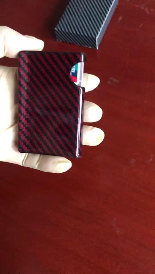 carbon fiber money clips wallet 100% Carbon Fiber, black matte gloss