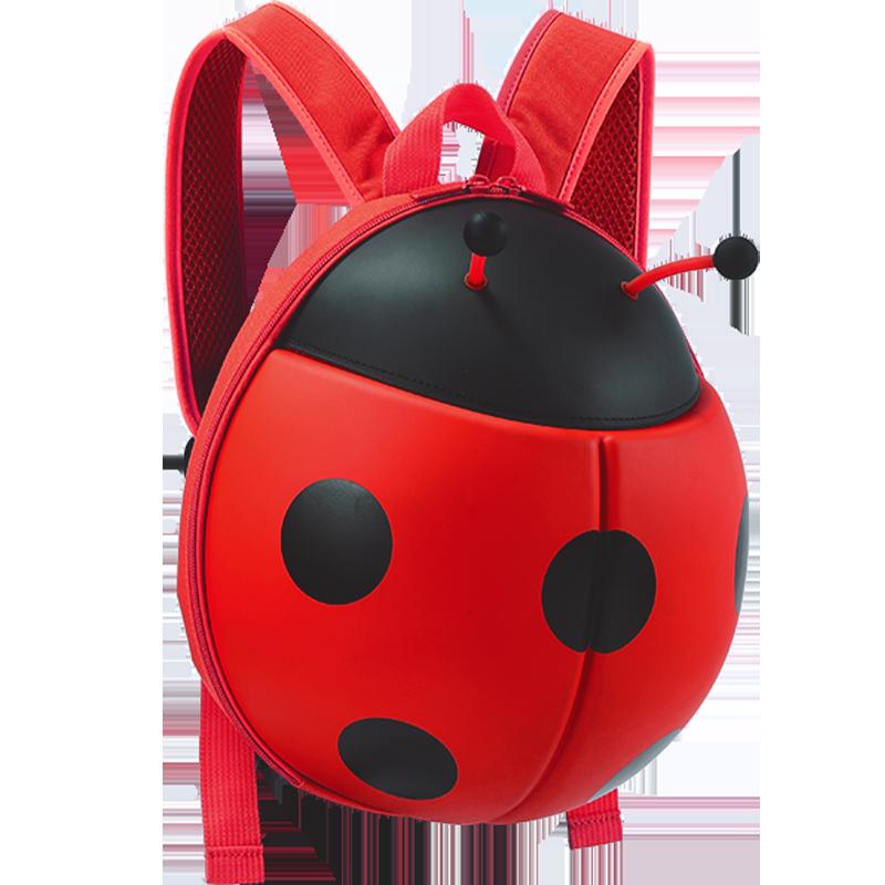 甲壳虫小童背包瓢虫幼儿书包男女宝宝书包幼儿园婴幼儿防走失背包