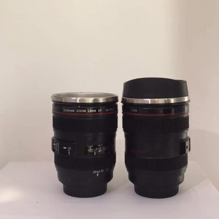 Best Selling Novelty Products Caniam Camera Lens Coffee