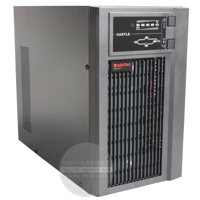 山特 UPS不间断电源 2KVA 1600W 4小时 C2KS 电池100AH 6只稳压