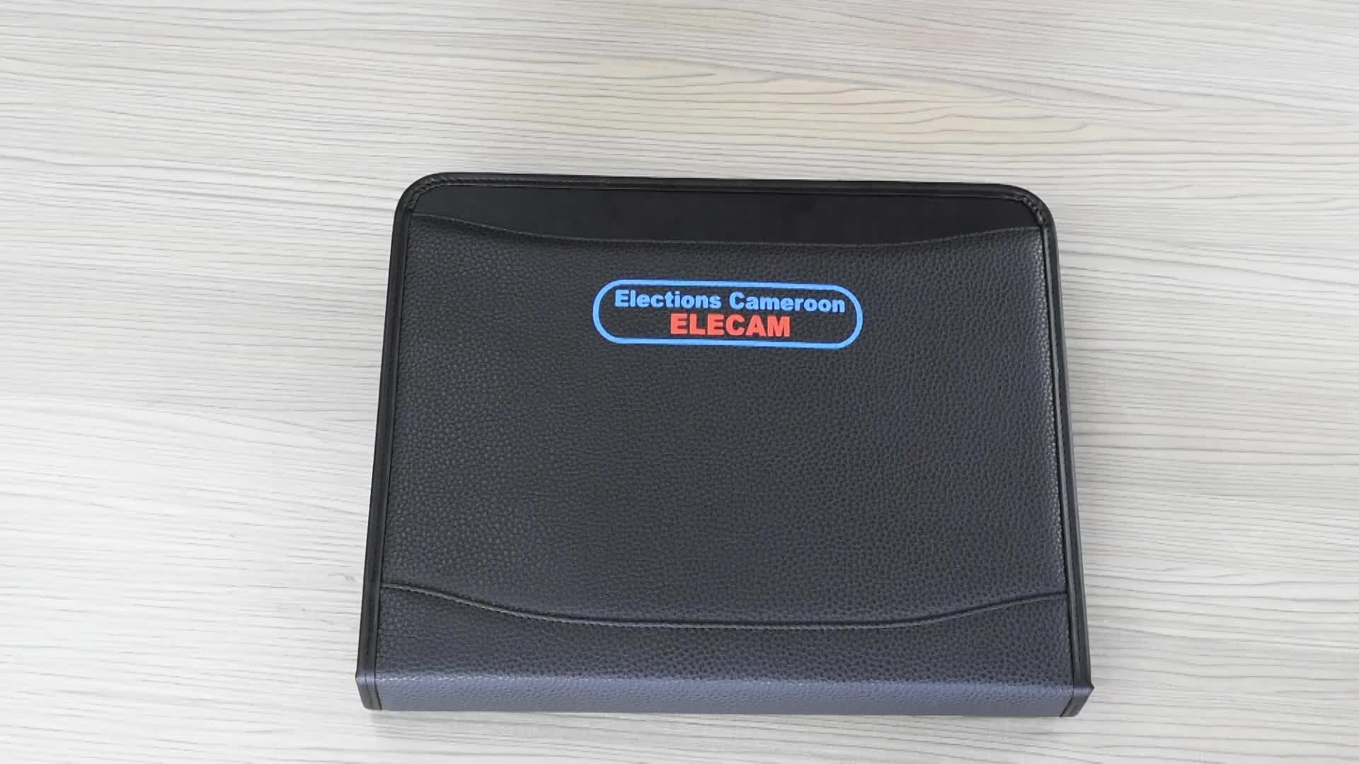 Handing custom printed presentation file folder document Bag