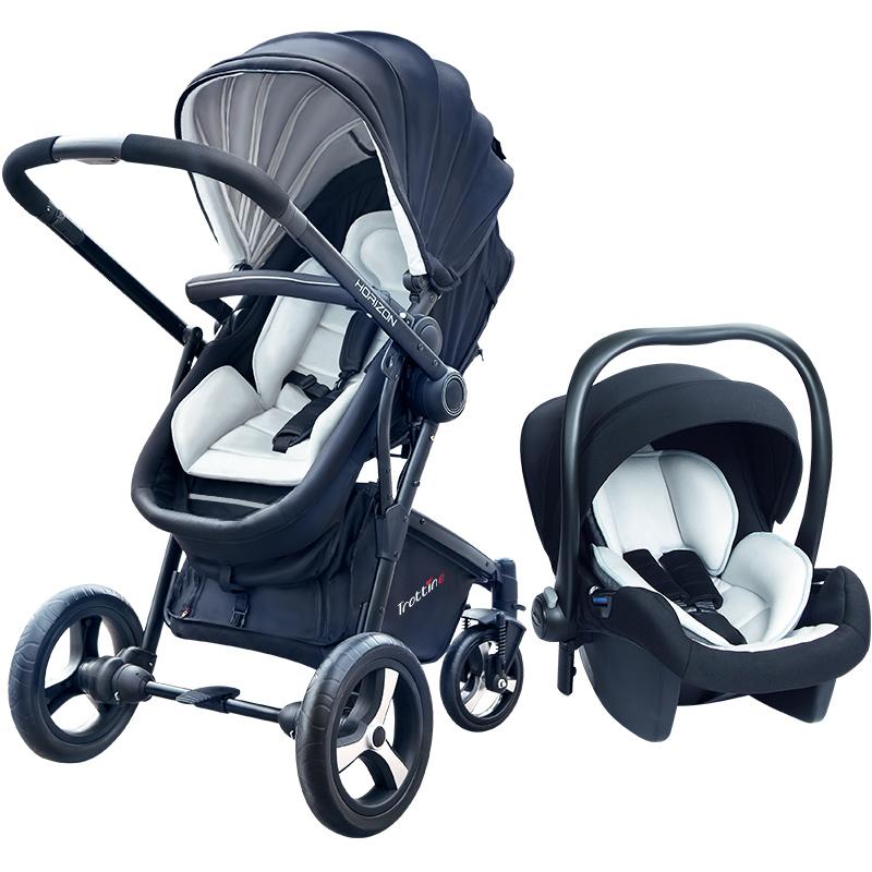 trottine高景观婴儿提篮轻便手推车评价如何