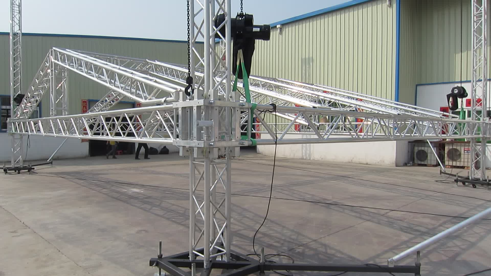 diy lighting truss. DIY DJ Style Aluminum Spigot Stage Lighting Pillar Audio New Line Array Speaker Stand Truss Diy