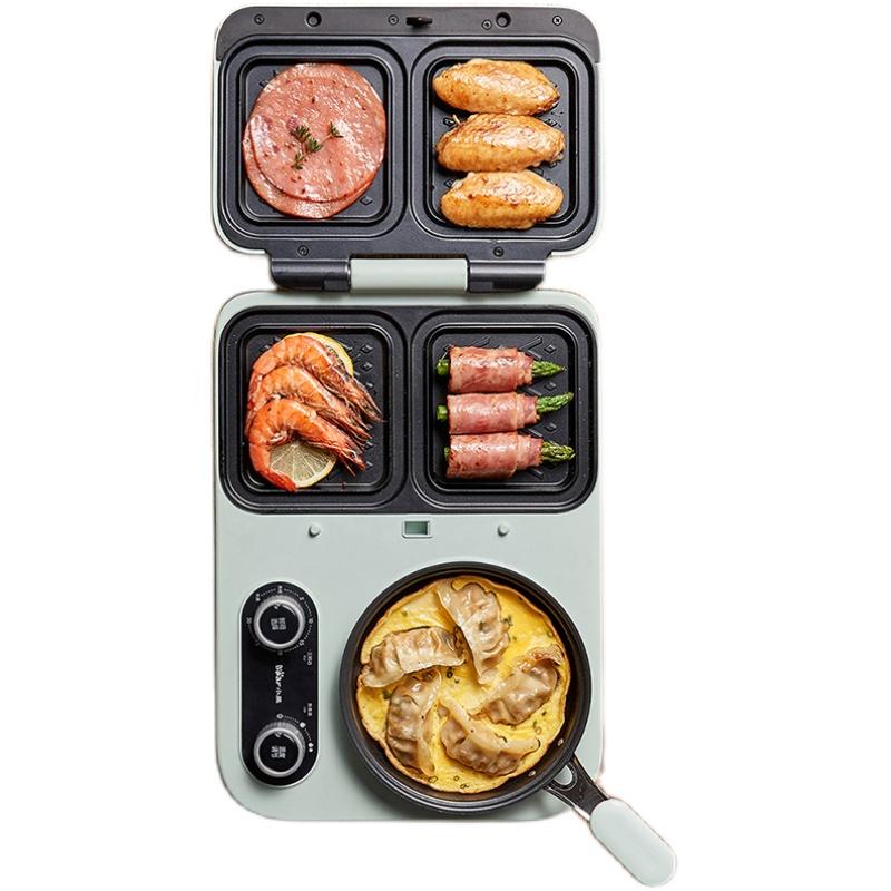 小熊早餐机三明治机家用小型轻食好用吗