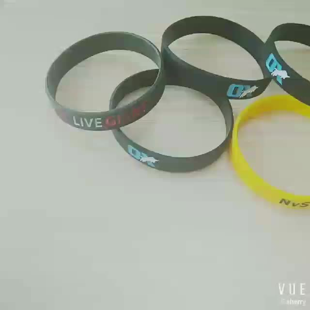white high quality cheap rubber baller band eco-friendly competitive price silicon baller ID bracelet rubber wristband