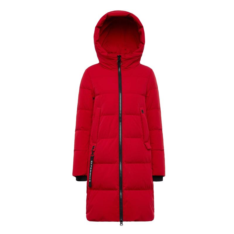 波司登中长款时尚运动女士羽绒服2019年新款爆款韩版加厚冬装外套