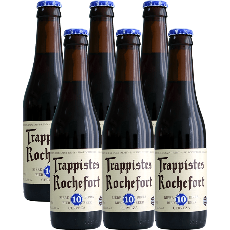 比利时进口罗斯福10号啤酒Rochefort罗斯福6/8/10号可选330ml*6瓶