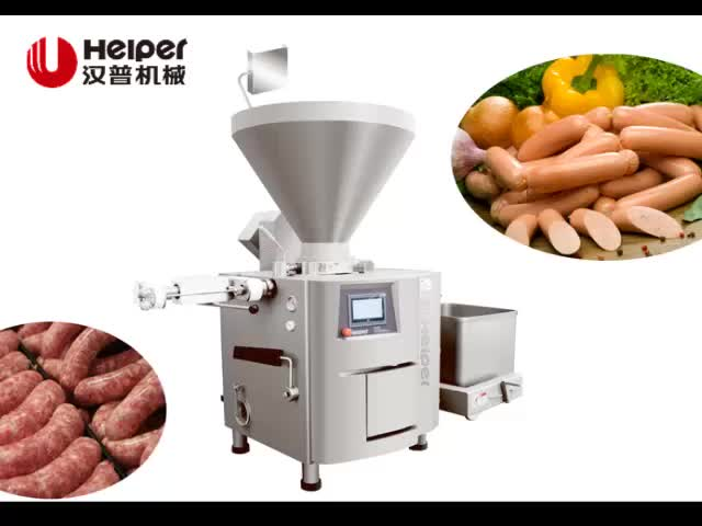 Automatic sausage vacuum sausage pack filler stuffer