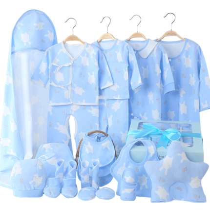 婴儿衣服新生儿套装出生宝宝女礼盒