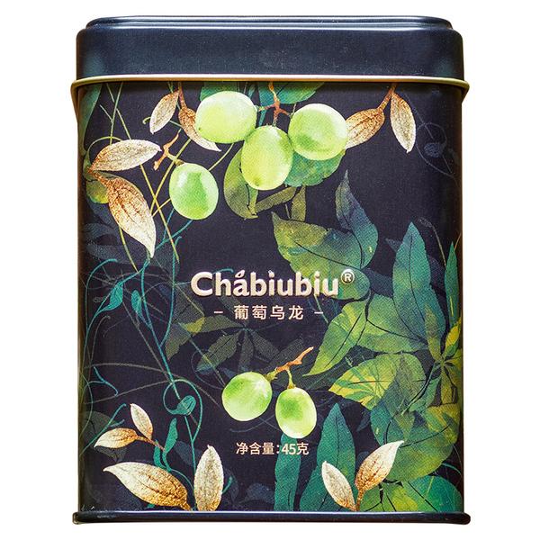 chabiubiu台湾文山包种葡萄乌龙茶,50元左右办公室朋友礼物
