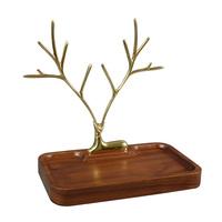 橡树庄园树枝首饰架摆件桌面戒指项链架子饰品展示架钥匙收纳盘