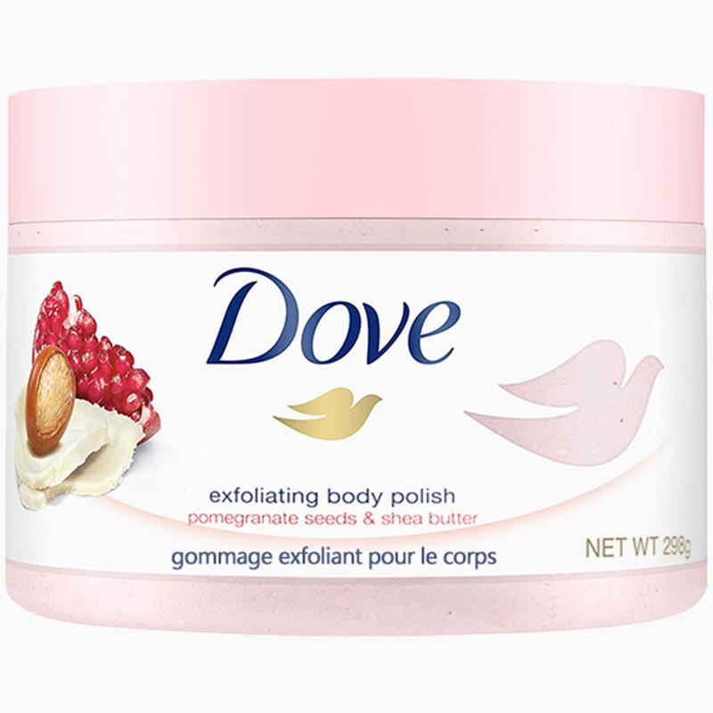 多芬磨砂膏去角质嫩白女套装乳霜好不好