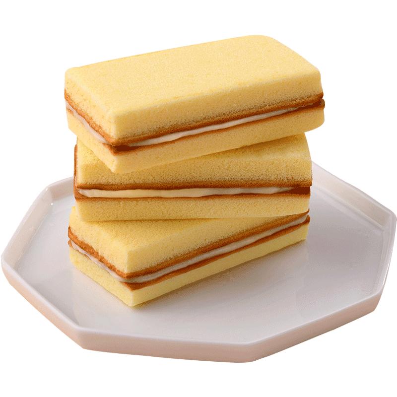 巴比熊乳酸菌口袋整箱蒸蛋糕品面包