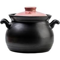 康舒日式彩盖砂锅明火煤气直烧汤锅大容量炖锅陶瓷煲家用煮粥汤煲