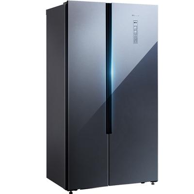西门子冰箱双开门嵌入式超薄大容量风冷无霜对开门冰箱KX50NA43TI
