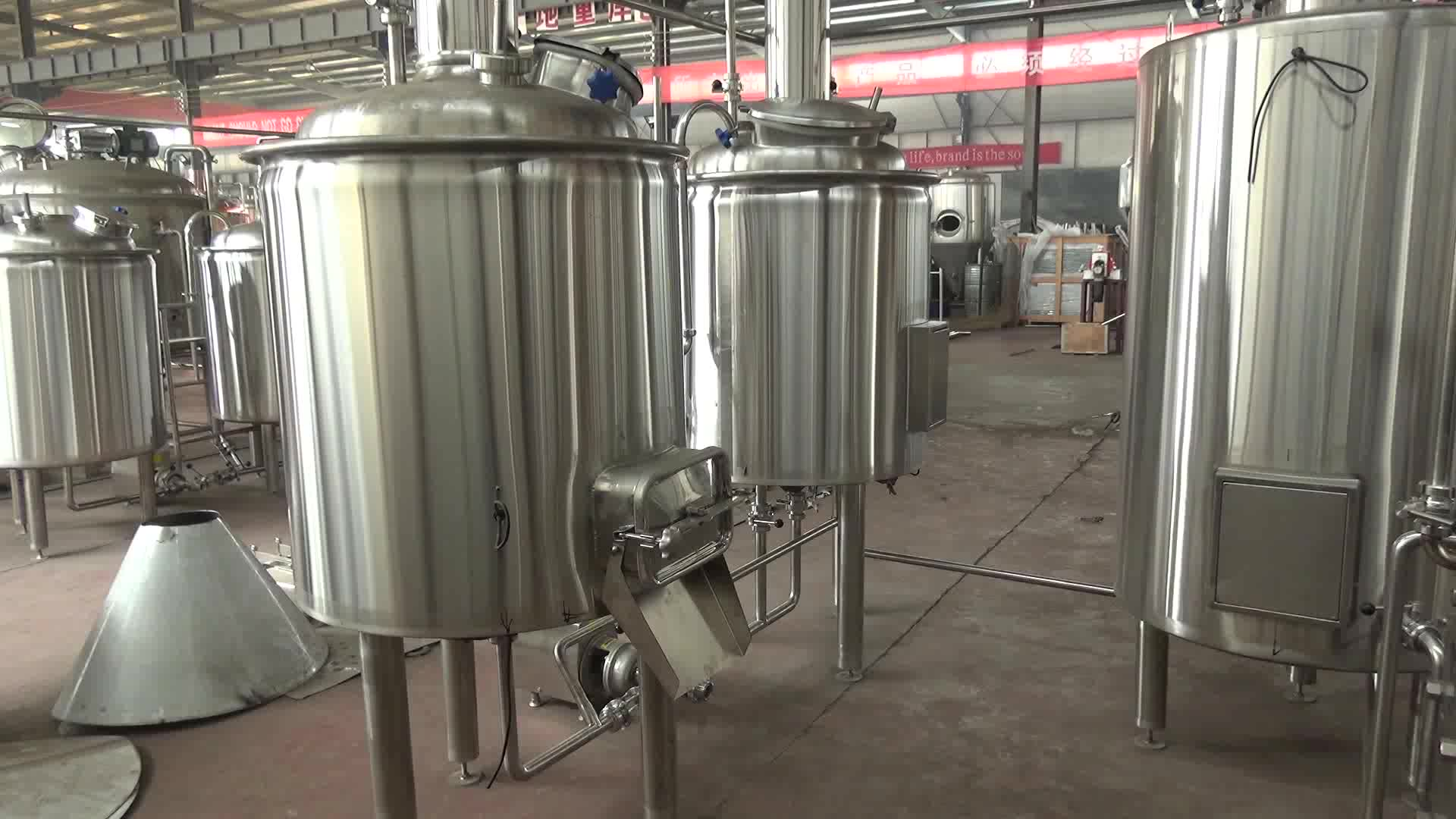 Bar Restaurant Brewery Build Craft Micro Commercial Beer Brewing Equipment For Sale