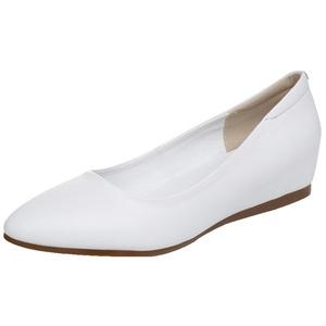 春夏新款白色防滑软底坡跟护士鞋