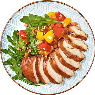 优形沙拉新奥尔良味100g*高鸡胸肉