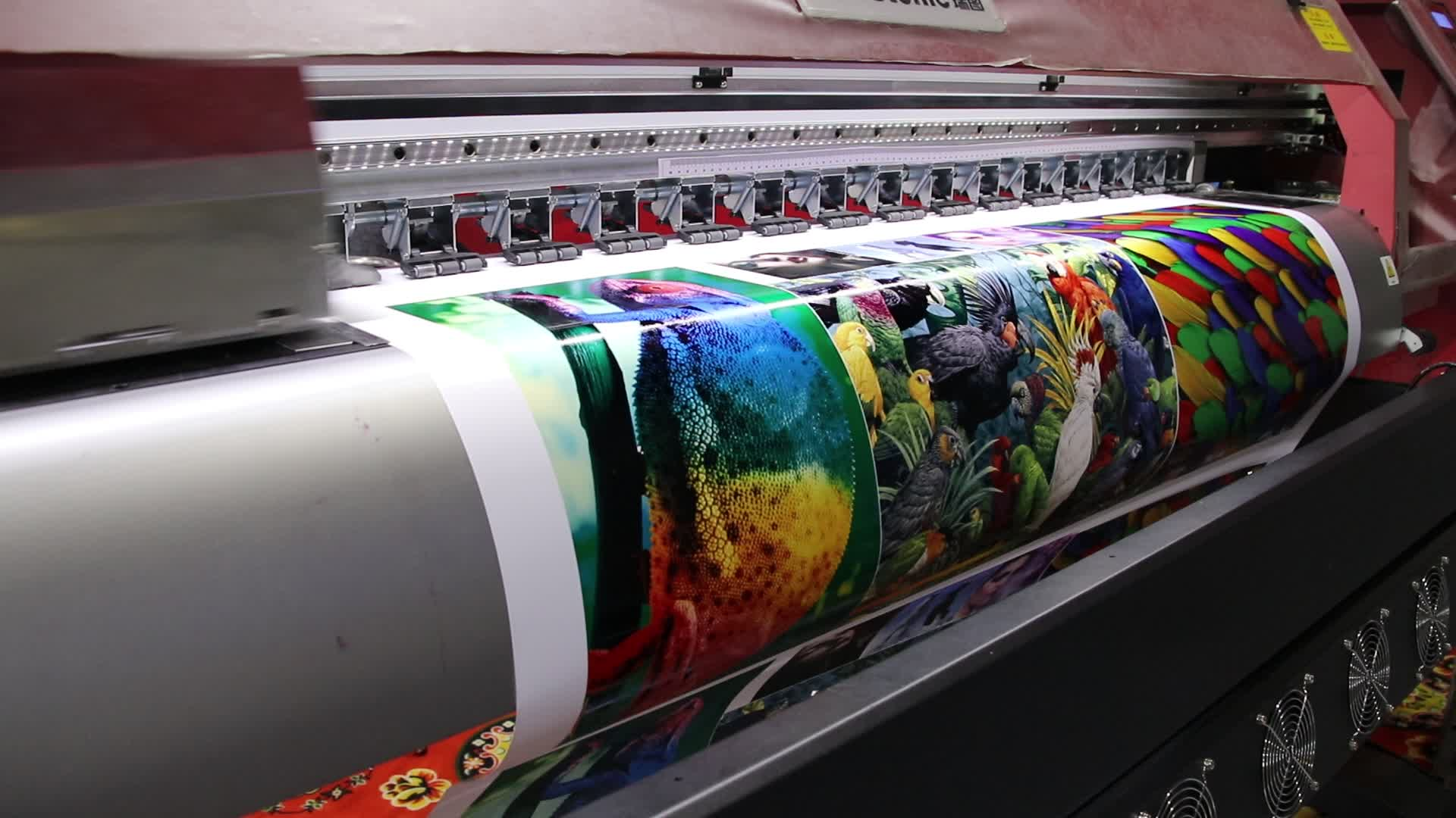 Crystek 3.2m eco solvent printer with dx5  heads RT320 eco solvent printer inkjet dx5