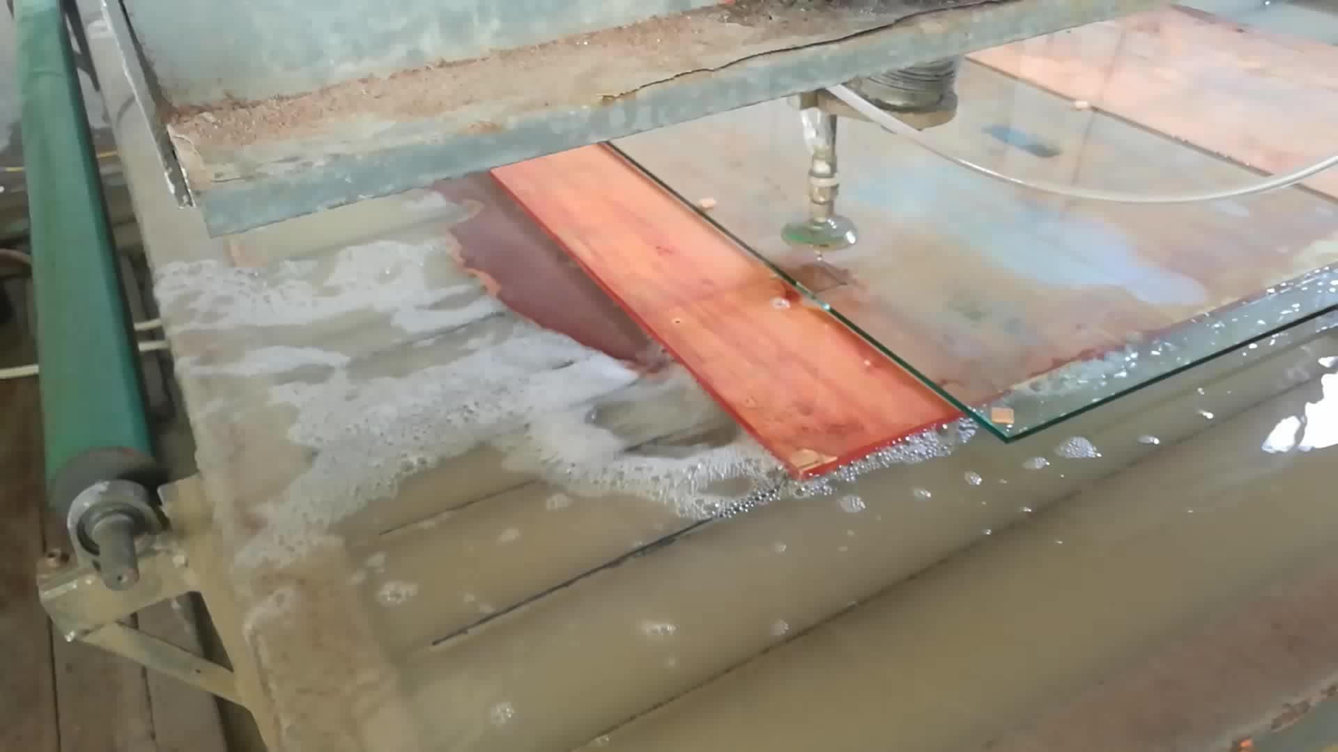 Alta calidad vidrio templado sin marco puerta de entrada con CE y BV