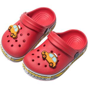 宝宝夏防滑婴幼儿可爱软底男洞洞鞋