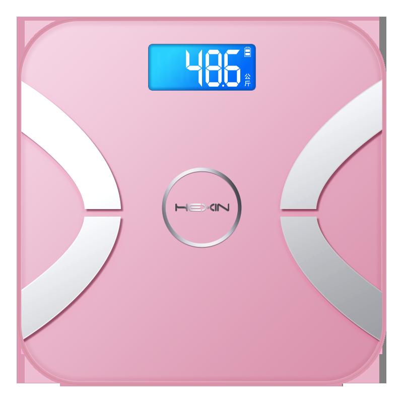智能体脂称电子秤体重秤家用成人小巧精准女减肥小型人体测脂肪秤