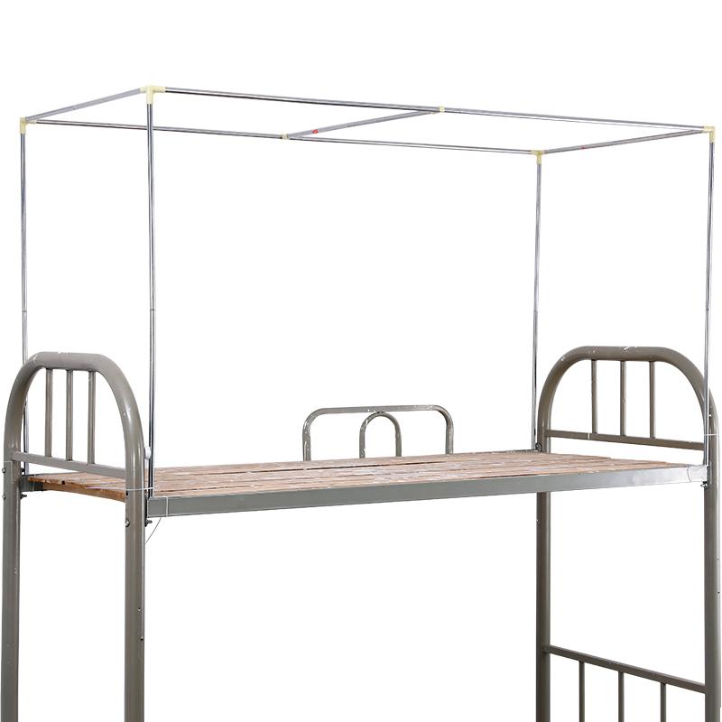 可伸缩调节大学生宿舍支架上铺床帘质量怎么样
