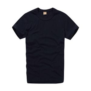 夏季短袖t恤男修身纯色纯棉打底衫