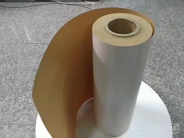 Kraftpapier laminiert mit PE-Gewebe für Komponenten oder Zubehör zum Einwickeln von Material